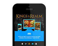 Kings of the Realm: Digit Account Verification