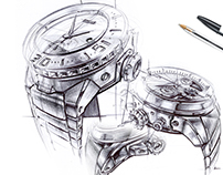 BIC Sketchbook - Watches