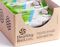 Healthy Ball Protein Candy / Branding & Packaging