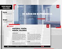 GALLARÁ GROUP - WEB DESIGN