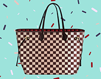 Illustrations collection Louis Vuitton