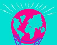 Poster for Paris/Terre concert