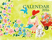 Illustrations Calendar 2016