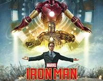 Iron Man 10th Anniversary alternative movie poster