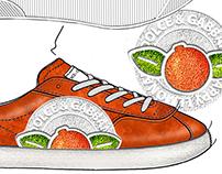 DOLCE & GABBANA - Happy lemonade Sneakers