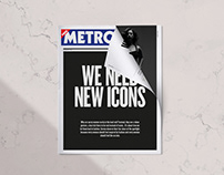 Simply Be X Metro - 4 Page Cover Wrap