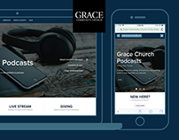 Redesign of Grace Website