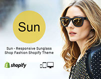 Sun – Responsive Sunglass Shop Fashion Shopify Theme