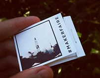 MINI INSTABOOKS | Custom matchbook sized notepads.