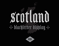 Free font - Scotland
