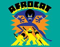 Afrocat, from Deja Vu Comics