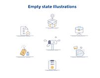 Empty State Illustrations