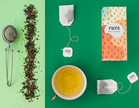 Tea branding and packaging