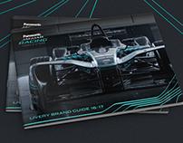 Panasonic Jaguar Racing | Formula E Livery Brand Guide