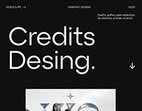 Credits Desing 2020