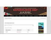 Nuevo catálogo Exposólidos