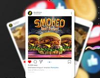 Social Media | Double I Resturant