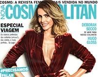 Cosmopolitan - julho 2016 case BLOOM/ADEDO/LOOK AT ME