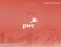 PwC Office Branding | Riyadh