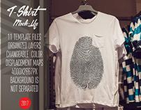 T-Shirt Mock-Up Vol.14 2017