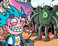 Tom et ses Robots
