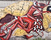 Gods in Love + Barlo - Wall in Barletta - Italy