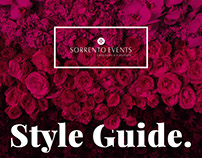Sorrento Events Branding