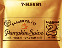 7 Eleven Office Coffee, Fresh Ground Packaging