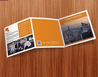 Square Tri- Fold Business Brochure