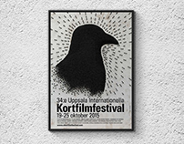 Poster/trailer Uppsala Int. Short Film Festival 2015