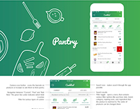 Cooking Application Design Concept