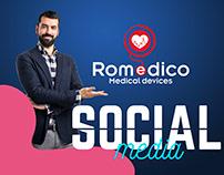 Romedico socialmedia