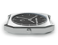 wristwatch 3d rendering