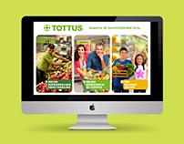 Reporte de Sostenibilidad Tottus, 2014