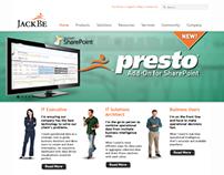 Website Design - JackBe Corporate Website