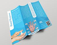 hand hygiene Tri Fold Brochure