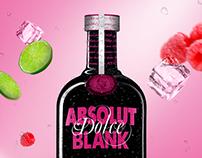 Design Bottle Absolut Blank Dolce