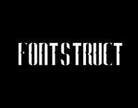fontstruct - criação de uma fonte modular