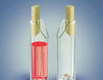 GLASS BOTTLE - School Project