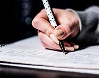 Samuel Nathan Kahn - Pen Writing notes Studying