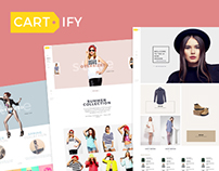 Cartify eCommerce Wordpress Theme Project '2016