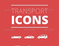 Transport Icons - Premium Vector Iconset