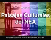 Muestra Paisajes Culturales del NEA