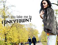 Won't you take me to Funkytown? / Grazia December 2015