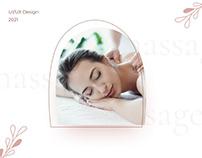 Сайт для мастера массажа