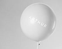 Arthur - Visual Identity + Stationery