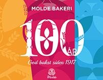 Molde Bakeri 100 år