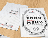 Elegant Food Menu II