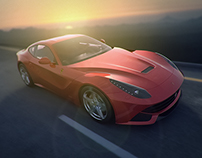 Ferrari F12 Berlinetta Full CGI
