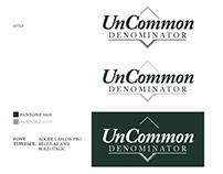 UNCOMMON DENOMINATOR logo design